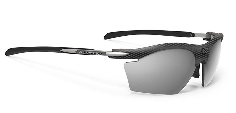 SP540914-00 משקפי שמש דגם RYDON SLIM של רודי פרוג'קט, צבע קרסון מראה כסוף