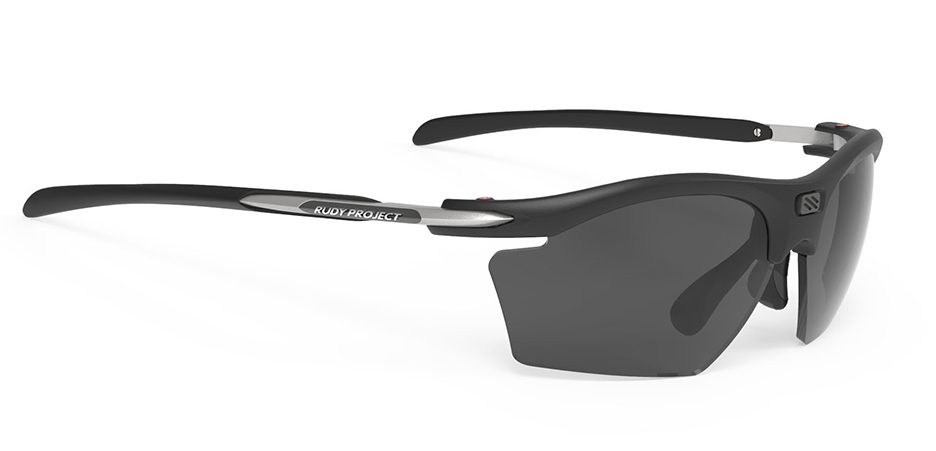 SP545906 משקפי שמש דגם RYDON SLIM של רודי פרוג'קט, צבע שחור פולורייזד