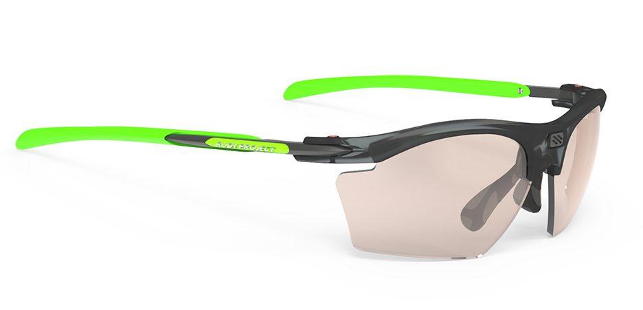 SP547787 משקפי שמש דגם RYDON SLIM של רודי פרוג'קט, צבע אפור-ירוק