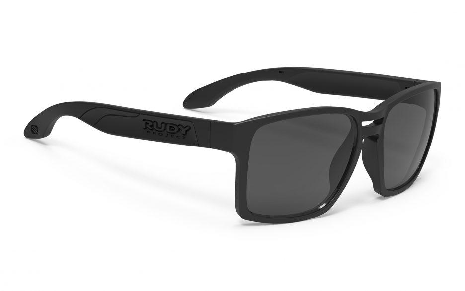 SP575906-0000 משקפי שמש דגם PINAIR 57 של רודי פרוג'קט, צבע שחור פולורייזד