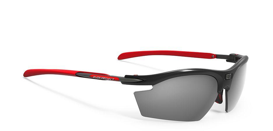 SP530942-0002 משקפי שמש דגם רידון של רודי פרוג'קט צבע שחור-אדום RYDON