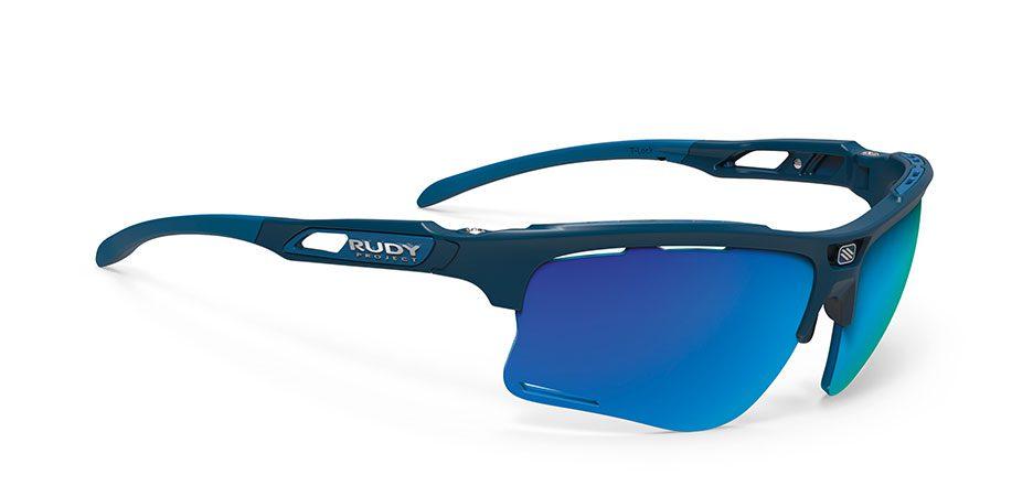 SP506547-00 SP505906-00 משקפי שמש רודי פרוגקט דגם KEYBLADE צבע כחול עדשות פולורייזד