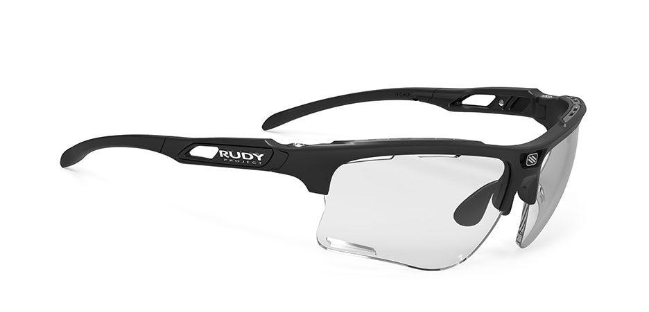 SP507306-0000 משקפי שמש רודי פרוגקט דגם KEYBLADE מסגרת שחורה עם עדשות מתכהות
