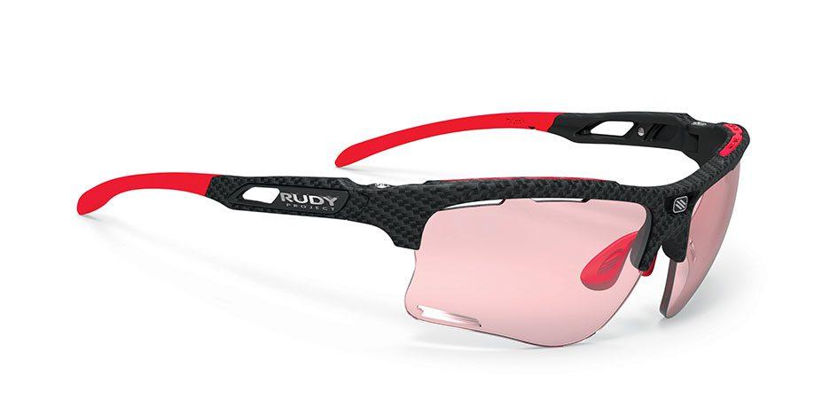SP507419-00 משקפי שמש רודי פרוגקט דגם KEYBLADE צבע קרבוניום עדשות מתכהות