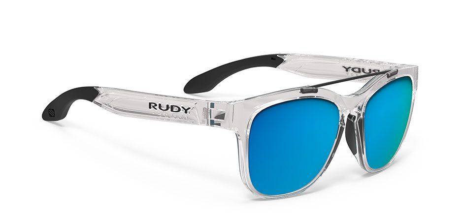 SP593996-00 משקפי שמש דגם PINAIR 59 של רודי פרוג'קט, צבע שקוף-כחול