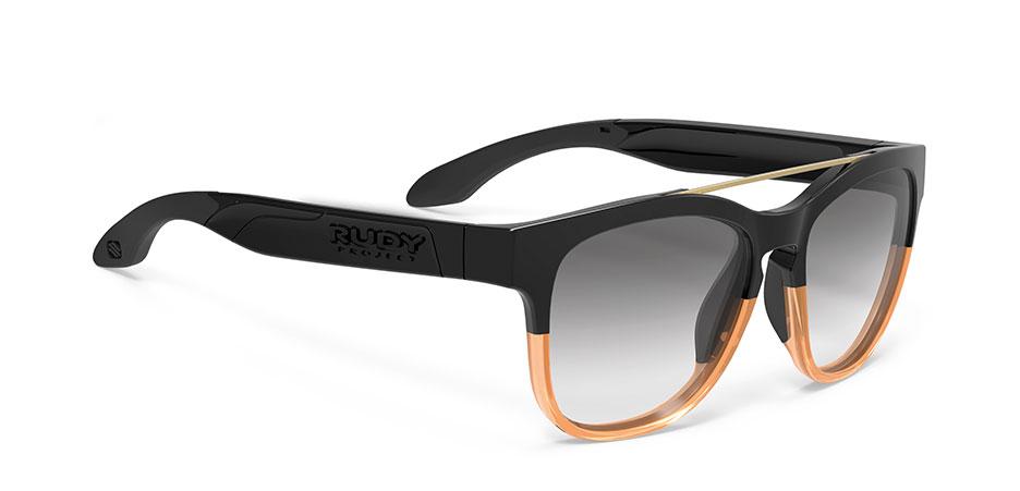 SP595142-0001 משקפי שמש דגם PINAIR 59 של רודי פרוג'קט, צבע שחור-חום