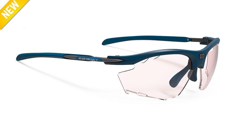 SP537449-OR00 משקפי שמש דגם רידון של רודי פרוג'קט צבע כחול RYDON RUNNING