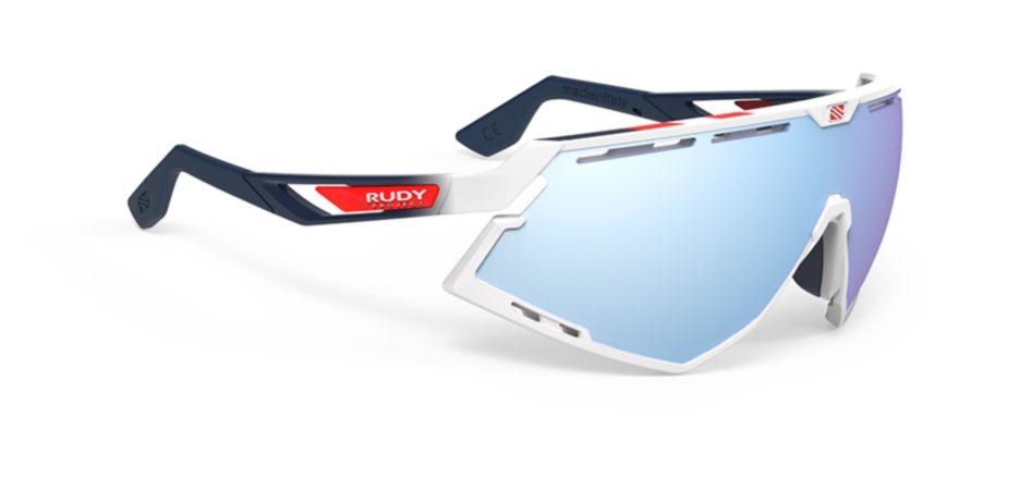 SP526869-20 משקפי שמש דגם DEFENDER של רודי פרוג'קט, צבע לבן-כחול