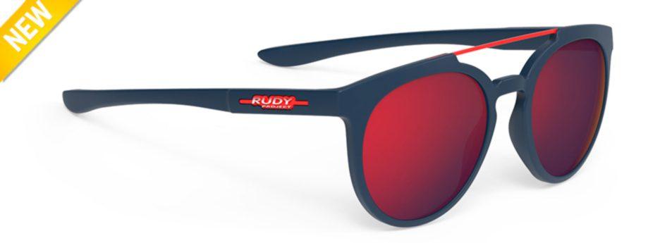 sp403847 משקפי שמש דגם ASTROLOOP של רודי פרוג'קט, צבע כחול-אדום
