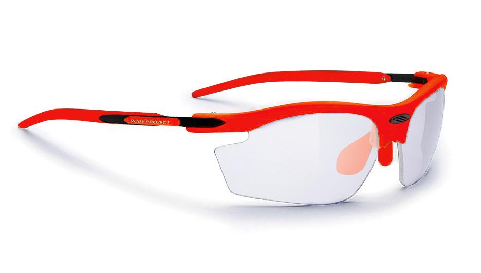 SN797374FFF9 - RYDON משקפי שמש דגם רידון של רודי פרוג'קט צבע כתום פלו